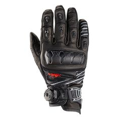 Knox Orsa Leather Motorcycle Gloves - http://playwellbikers.co.uk/motorcycle-gear/knox-orsa-leather-short-motorcycle-gloves/