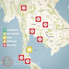 El tiempo en Tailandia en SEPTIEMBRE
