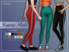 Jogging SetThis set includes two creations: a loose crop top with cross straps…