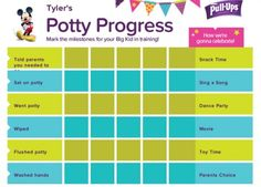 star charts for kids toilet training