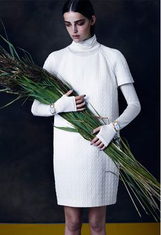 Mari Nylander In 'Eternal Flowers', Lensed By Léa Nielsen For 160g Winter2014 - 3 Sensual Fashion Editorials | Art Exhibits - Anne of Carversville Women's News