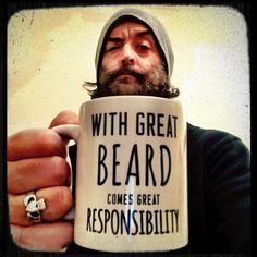 The man, the hair, the beard. He's magnificent. No other word for it. Timothy Omundson.