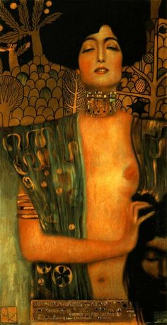 Judith and Holopherne - Gustav Klimt
