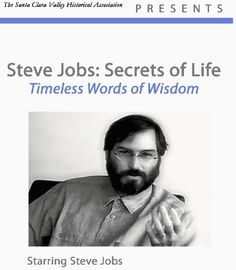 Steve Jobs: Secrets of Life Film and Audio Download. Another favorite is this one: http://www.ted.com/talks/steve_jobs_how_to_live_before_you_die.html