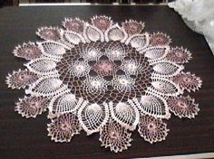 Ravelry: Rose and Pineapple Doily pattern by Workbasket Magazine