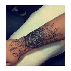 Tattoo via Tumblr We Heart It ❤ liked on Polyvore featuring accessories