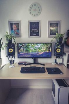 My bedroom/battlestation setup (AKA my happy place) - Imgur