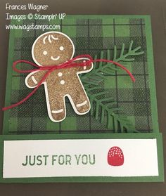 Stamp with Frances: August NC Demo Blog Hop | Cookie Cutter Christmas