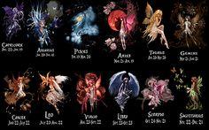 zodiac fairies