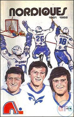 NHL Media Guide: Quebec Nordiques (1981-82) Sports Art, Sports Logos, Quebec Nordiques, Hockey World, National Hockey League, Detroit Red Wings, Hockey Players, Major League, Ice Hockey