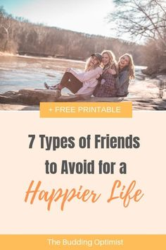 Friendship is important to our happiness, but there are 7 types of friends that we should avoid for a happier life. Friend Friendship, Best Friendship, Self Development, Personal Development, Positive Mindset, Positive Living, Motivation Goals, Happy Quotes, Happiness Quotes
