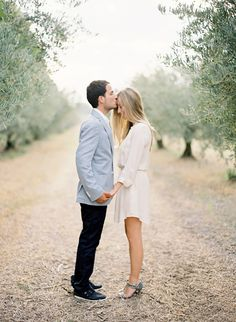 South of France Engagement Session by Jose Villa