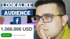 Facebook Lookalike Audience 2020 : All you need to know to create great ads! In this facebook lookalike audience tutorial 2020.  Why would you use the lookalike audience facebook ads 2020 as a custom audience? To get money on the back end. When you have conversions and traffic, that data can bring value longterm. Retargeting is one of the ways to monetize this data and lookalike audience facebook 2020 is the next. In this video i will also show you how to create facebook ads 2020 from start Social Media Marketing Agency, Small Business Marketing, Online Surveys For Money, Advertising Campaign, Ads, Social Media Training, Entrepreneur Quotes, Look Alike, How To Get Money