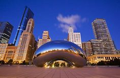 Downtown Chicago's parks are some of the finest in the country. In Millennium Park, make a beeline f... - Millennium Park