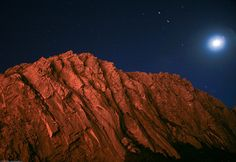 4 of 5 Night Photo from Morro Rock, Morro Bay, CA by mikebaird, via Flickr