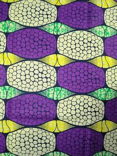 African super wax block print fabric   via Africanpremier
