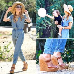 Keep on File for Summer: Rachel Zoe's Chic 'Hiking' Outfit