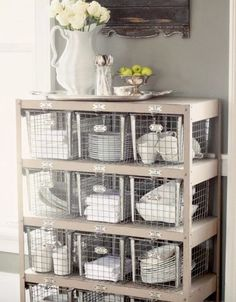 Is the gym throwing out some old lockers? Turn them into a chest of drawers.