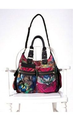 #Bag of #Desigual #fashion brand more bags and handbags here http://www.charadaweb.com/en/187-bags-desigual