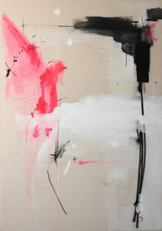 """Federico Saenz, """"Movement With a Purpose"""", acrylic, graphite, pastel on canvas"""
