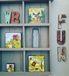 Having fun with our Cahaya #boatwood Alphabet. Spell it out with these colourful #rustic wooden letters. ww.zenporium.com  #Zenporium #cahayaletters #boatwoodalphabet #wallart #interiordesign #decor #woodletters #sustainabledesign #greenliving #GuiltFreeWood #rusticdecor #shoponline Wood Boats, Wood Letters, Wild Birds, Sustainable Design, Four Square, Rustic Decor, Alphabet, Have Fun, Gallery Wall