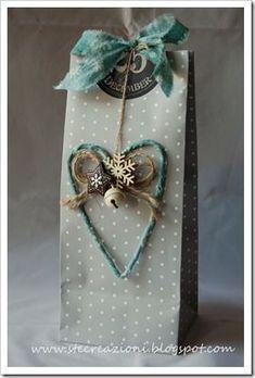 ♥ heart gift bag