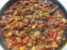 BELEN-TAVA-(İskenderun,-Antakya,-Hatay) Turkish Recipes, Italian Recipes, Ethnic Recipes, Turkish Kitchen, Fish And Meat, Fresh Fruits And Vegetables, Food Facts, Meat Recipes, Breakfast Recipes