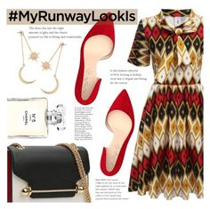 """The Runway Look"" by tasnime-ben ❤ liked on Polyvore featuring Shoes of Prey, Chanel and vintage"