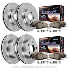 Powerstop Brake Disc And Pad Kits 4-wheel Set Front & Rear Koe4014 #car #truck #parts #brakes #brake #discs, #rotors #hardware #koe4014