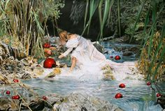 Caroline af Ugglas - Oil Painting On Canvas, Oil Paintings, Amazing Art, Artist, Prints, Mixed Media, Inspiration, Biblical Inspiration, Printed