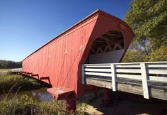 Covered Bridges of Madison County - spent my honeymoon visiting all of them, August 30, 1997