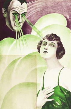 Hypnotist poster ca. 1922