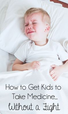 How to Get Kids to Take Medicine...Without a Fight + giveaway! #ad