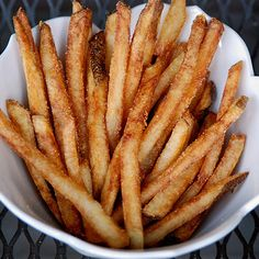 The secret to perfect French fries.