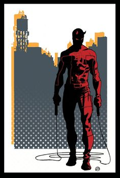Daredevil - Davide Gianfelice - DD's father was a boxer. Besides good genes and workouts at Fogwell's gym, he was taught by Stick, a blind trainer.