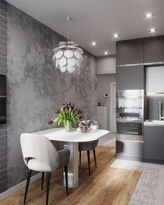 Кухня и коридор из текущего проекта от студии Jeevaa design однокомнатная квартира! Luxury Kitchen Design, Luxury Kitchens, Interior Design Living Room, Living Room Designs, Studio Kitchen, Home Decor Kitchen, Kitchen Ideas, Modern Bedroom Design, Cuisines Design