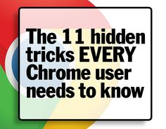 Google Chrome is the most popular web browser on the planet. It is easy-to-use, lightning-fast, and has a tonne of hidden tricks and features that you probably do not know about. Here\'s how to get the most from your web browser.