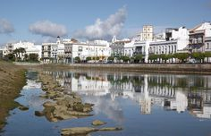 White washed houses in #ayamonte.