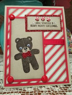 Another cute stamp from the Cookie Cutter Christmas set!