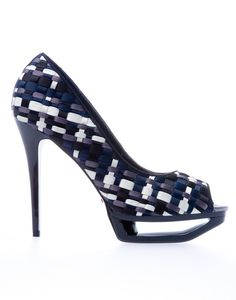 Errol Arendz Corrine satine weave heeled sandal... WOW OH WOW!!