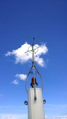 Kompas på Sletten Havn