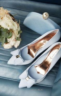Wedge Wedding Shoes, Wedding Boots, Bridal Shoes, Wedge Shoes, Bow Wedding, Wedding Suite, Wedding Dresses, Wedding Details, Shoes Sandals