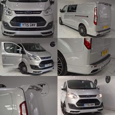 Ford Transit Custom full body kit Mini Vans, Custom Body Kits, Ford Motorsport, Transit Custom, Cool Vans, Vans Style, Ford Escort, Transporter, Ford Transit
