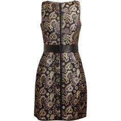 4960fabe5b21 RAOUL Alina Metallic Brocade Dress Brocade Dresses, Marchesa, Designer  Dresses, Graduation Dresses,