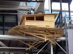 Tadashi Kawamata - Wood Hut Pompidou, Paris