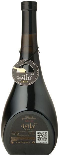 Decanta rosso Cantine Ceci. http://www.lambrusco.it/prodotti/grande-ristorazione/decanta/decanta-rosso
