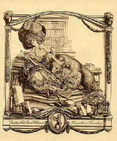 Ex Libris- 蔵書票 Bayros Room バイロスの部屋 Room 8-210 1911