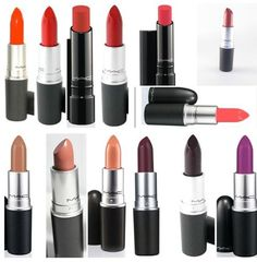 These are the best MAC lipstick shades for women of color. My all time favorite will always be Ruby Woo! Mac Red Lipsticks, Best Mac Lipstick, Lipstick For Dark Skin, Lipstick Shades, Lipstick Colors, Lip Colors, Grey Lipstick, Bright Lipstick, Summer Lipstick