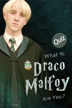Hogwarts Quiz: Take this personality quiz to determine how much you are like Draco Malfoy from the Harry Potter series. Harry Potter Character Quiz, Harry Potter Life Quiz, Images Harry Potter, Harry Potter Jokes, Harry Potter Universal, Harry Potter Fandom, Harry Potter Characters, Harry Potter Narcissa, Harry Potter Draco Malfoy