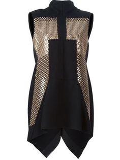 Rick Owens sequinned mini dress